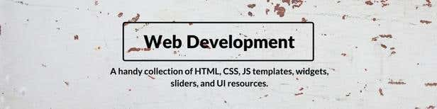 Free web development resources