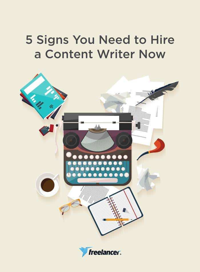 signs you need a content writer