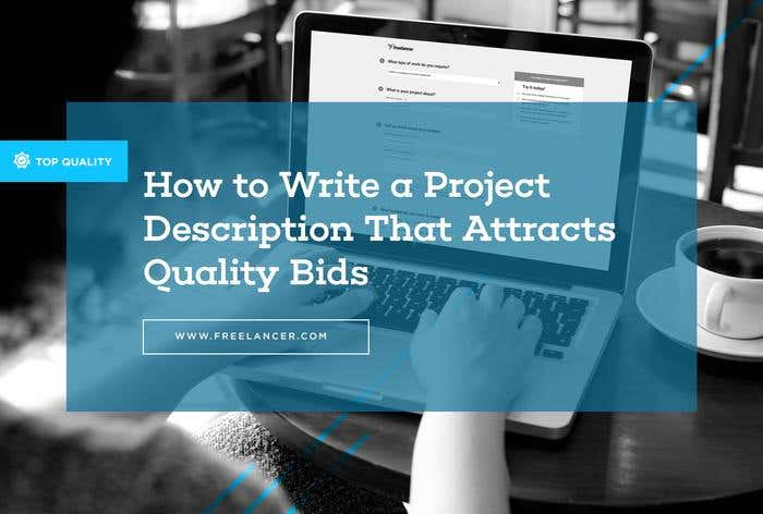 tips for writing project description