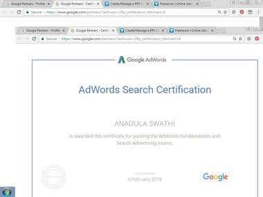 Bing Adwords Certification