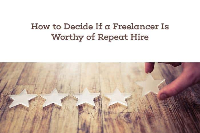 repeat hire freelancer