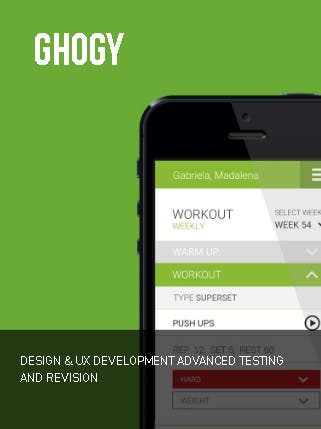 About GHOGY (UK) wants to innovate at the level of Trainings planning defined by Personal Trainers (through a customized model and adapted to the needs) and healthy lifestyle. After all, it's so easy to be the best (happier and healthier) version of ourselves!  Challenge Concerned with population well-being, GHOGY requested the development of a Web App and Website that allow its users to consult and analyze their Training Plans, Meal Plan and new Revenues. It was his ultimate goal simulate the functions of a Personal Trainer in a digital context.  Solution In addition to a Web App for a Personal Fitness Plan, we have created a website with specific features for its users, namely: access to the training plan, food, new recipes, etc. But also, a Pre-Sales Landing Page for generation of Leads.  https://double.pt/en/portfolio/ghogy/