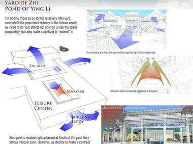 Landscape Design: Lotus Hall  Yard Project.