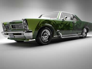 Muscle Car Hire Houston