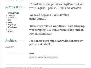 Proofreading service online marathi