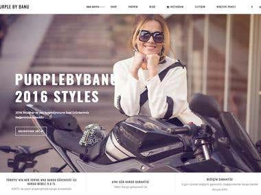 We design and develop Purplebybanu.com website with WordPress and WooCommerce ecommerce plugin.