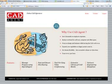 CAD Agent is an application for architects making the entire architecture work digital. It is a cost-effective and project management tool. The Application provides a unified platform for all the diverse architectural work.  Master Page customization (Public facing site)  Technology used: Office365, Visual Studio  How customization was done:  1.HTML, CSS, JavaScript has been used for customization  2.Seattle master page was taken to modify it as per requirement. 3.Slides, mega menu, responsive sites, dynamic navigation menu were used. 4.Column fixing functionality like of MS excel was done in SharePoint list view. 5.For Navigation Bar JavaScript was used, it helps in expanding and alignment through it. 6.JavaScript controlled authorization for access of particular page 7.The Page has been made interactive by using animations with the help of JavaScript. 8.Header and Footer customization has been done. 9.Ribbon customization was done by using JavaScript and jQuery.