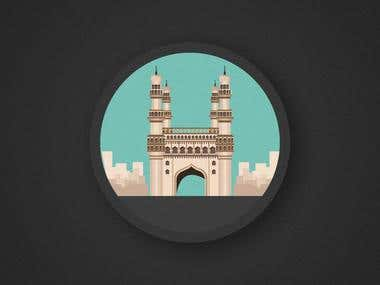 Few popular cities from india