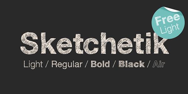 free-font-sketchetic