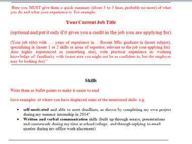 This resume has been proofread and edited to make sure its error-free and increase the owner chance to get the job