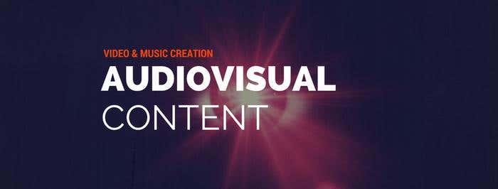 adiovisual content