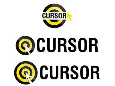 I created logo for a software company called CURSOR