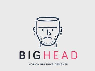 bigheadmotion freelance motion graphics designer freelancer. Black Bedroom Furniture Sets. Home Design Ideas
