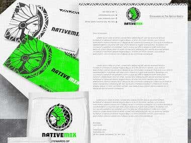 Hayesnch branding designer and illustrator freelancer for Organic soil brands
