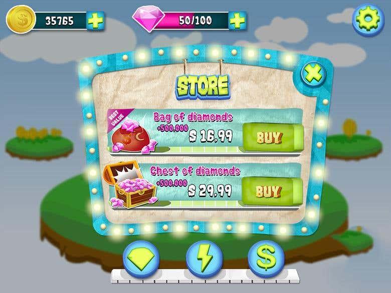 Cartoon Striped UI - Store.png