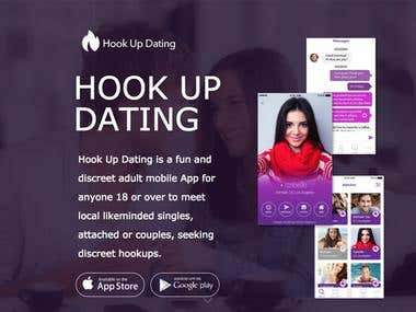 just hook up mobile app I've reviewed tons of apps and mobile dating sites  this is like a social networking app for people looking to hook up  the results can be just as good,.
