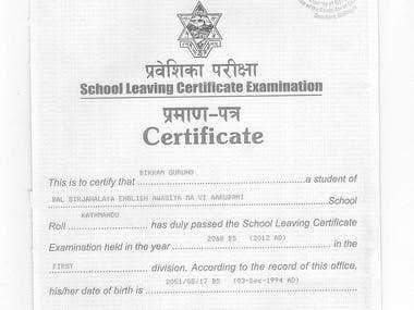 school leaving certificate Application format for school leaving certificate the headmaster, abc school city address subject: application for school leaving certificate respected sir, it is stated that i am (name) and student of (class/grade) in your respected institution.