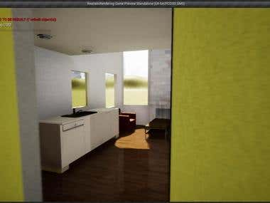 Hypercraftmedia 3d modeling and design freelancer for Virtual home walkthrough