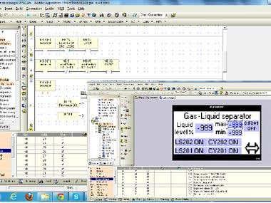Create Unitronics Ladder logic with VisiSoft