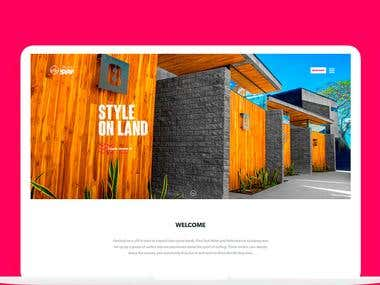 Date: June 2017 Client: PuroSurf The site is designed to impress people with the photographs and the quality of the hotel, this was a project that we created from scratch.