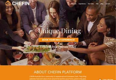 Chefin - Website
