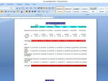 Merge the excel file with word files with his documents