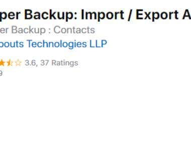 Backup all your iPhone or iPad contacts in 1 tap and export them! Fastest way to restore contacts from PC or Mac!  Important Features : 1. Export by mailing the backed up contacts file to yourself! 2. Export contacts file to any other app on your device! 3. Export all contacts directly to your PC / Mac over Wifi, no software needed! 4. Restore any contacts directly from PC / Mac 5. Restore contacts via mail !  Get the ultimate contacts backup app now !