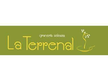 Logotipo realizado para la granería LA TERRENAL.