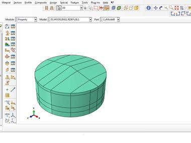 ABAQUS Project; Steel Tanks Under Blast Loads