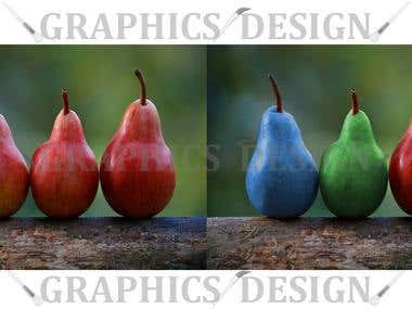Colour changing / Colour matching products .