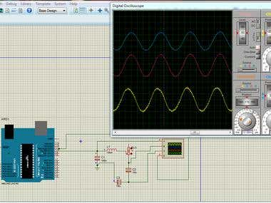 Pure sine wave generated by Arduino.