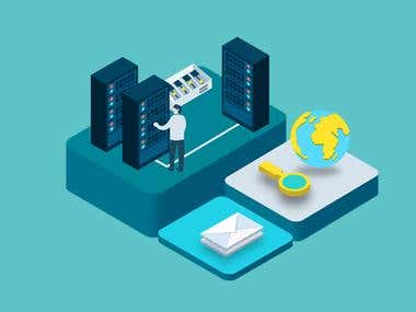 We have many years experience in web hosting like shared hosting, VPS hosting or Dedicated Server hosting. We have rich experience in DNS, CDN and SSL as well Email hosting.
