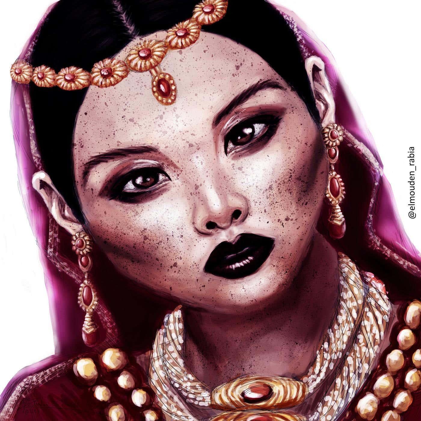 the woman wearing jewelry.jpg