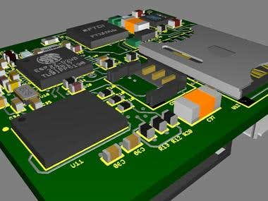 The device is designed based on nRF9160 and ESP32 micro-controller. It has Important features such as, Bluetooth, WiFi, and GSM