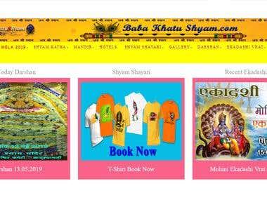 हम वेबसाइट www.babakhatushyam.com के माध्यम से आप सभी भक्तगणों को मोर्वीनन्दन की हर संभव जानकारी उपलब्ध कराने का प्रयास करेंगे। हम सच्चे मन से यह मानते हैं कि श्रीश्याम सरकार की सेवा उनके कृपा के बिना नहीं मिल सकती और हम अपने आप को बहुत गर्वित महसूस करते हैं कि इसी बहाने हमें श्रीखाटू नरेश और उनके भक्तों की सेवा करने का शुभ अवसर मिला है।  वैसे तो श्रीखाटूश्याम जी का सम्पूर्ण भारत में कई मन्दिर हैं किन्तु इनका मुख्य मन्दिर राजस्थान के सीकर जिले में एक प्रसिद्ध कस्बा है, जहां पर बाबा खाटूश्याम जी का विश्व विख्यात मन्दिर है। फाल्गुन मेला श्रीखाटूश्याम जी (मोर्वीनन्दन) का मुख्य मेला है। यह मेला फाल्गुन में तिथि के आधार पर 5 दिनों के लिये होली के आसपास मनाया जाता है।