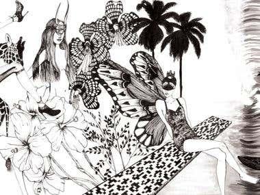 Joechandi Freelance Illustrator Fashion Designer