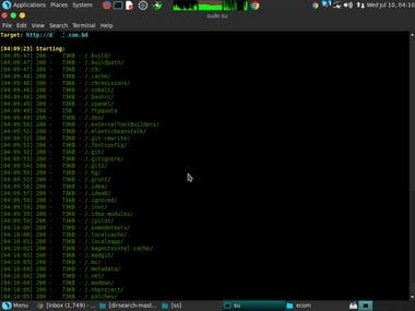 Drupal CMS vulnerability find and all dir find and check all point..