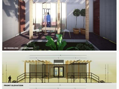 Container Modules Design  and Architectural Details