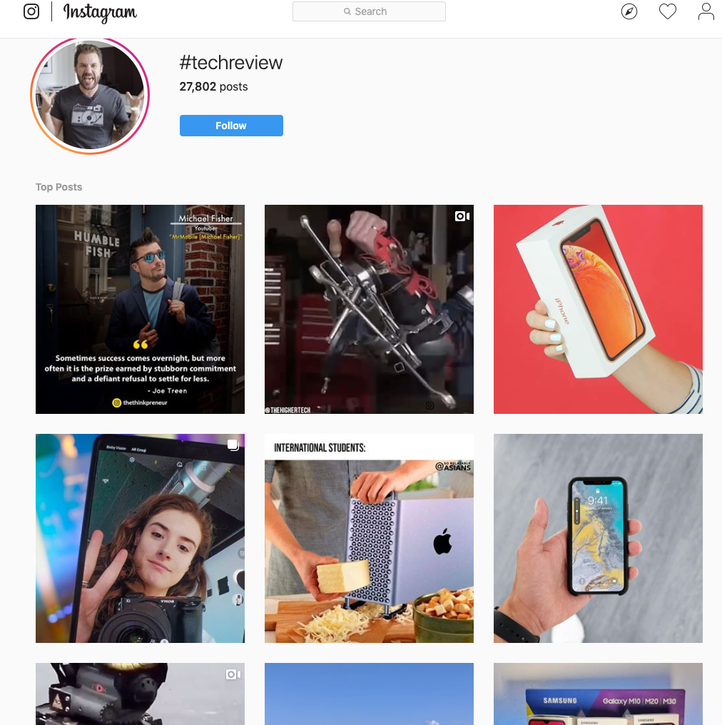 influencer marketing instagram tech reviewers