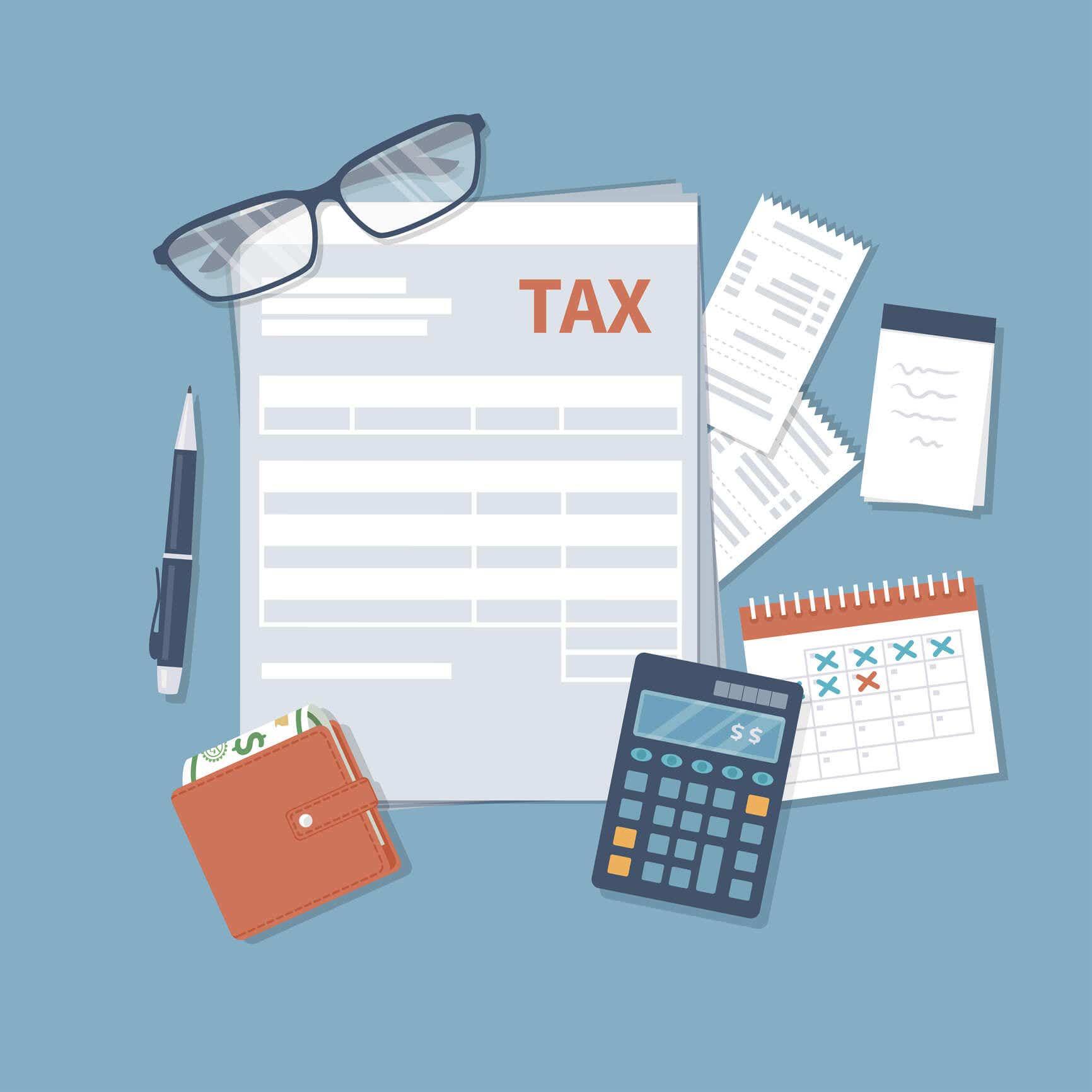 Taxation forms for sole proprietorship