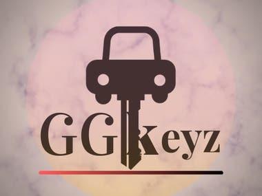 Logo design for car key company.