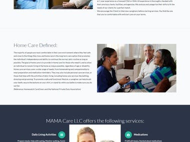 MAMA Care LLC strives to offer excellent and affordable non-medical home care services to individuals and families in Ventura County and neighboring cities. Its office is located in Oxnard, CA.