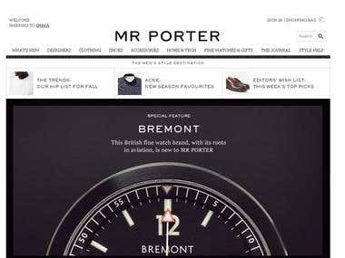 Mrinfotech13 web designing white hat seo smo for Mr porter logo