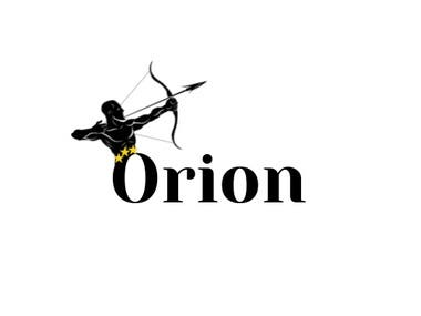 A logo for Orian, game company