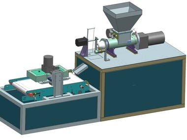 We are developed the machine for the food extruding, cutting and rounding, like Roti Dough Ball, Rasgulla Ball, Gulab Jambu Ball, Swaminarayan Ladvi, Mohanthal etc. We extrude a dough and cut it in a piece. All the pieces have the same weight, so we can maintain uniform size for all the pieces. During rounding phase, air bubbles are removed from the dough and the dough is made of round shape . We will also provide the size variation mechanism for created different size of dough. After rounding phase, there is mechanism for cutting the dough. The machine takes less time compare to humans. The machine can be used at large restaurants, caterers, temples where they needs to make food for large number of people in short period of time