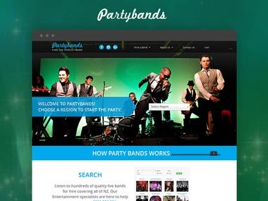 Partybands is an easy and trusted way to find a cover band for your wedding, corporate event, birthday or any other party! We supply covers bands, wedding bands, jazz bands and lots more live entertainment. Hire a band that plays your kind of music and suits your budget