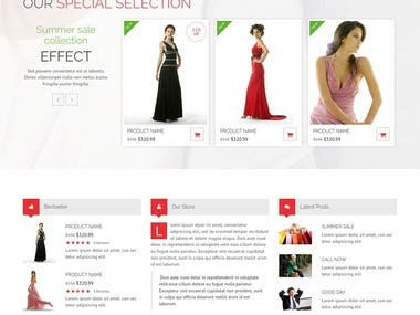 Displays all products directly via Shopstyle API. Developed wordpress plugin and Custom widget for fliter. Used  Angularjs filter in Search of Brand and Retailers. AJAX Call in API communication.