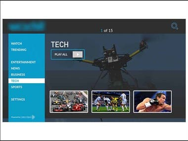 Amazon Fire TV Application