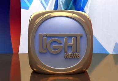 3D Logo | Light News Channel