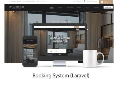 Booking System ( Laravel)